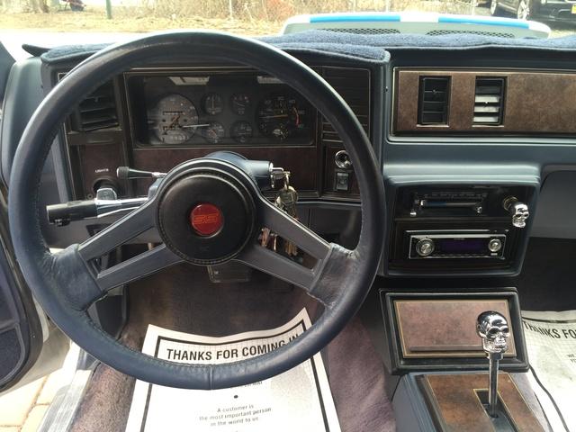 1984 Chevrolet Monte Carlo Interior Pictures Cargurus