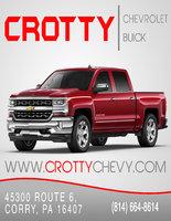 Crotty Chevrolet Buick logo