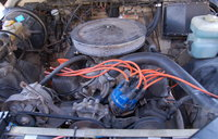 Picture of 1985 Land Rover Defender, engine