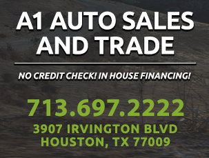 a1 auto sales and trade houston tx read consumer reviews browse used and new cars for sale. Black Bedroom Furniture Sets. Home Design Ideas
