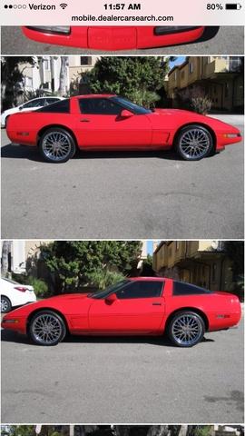 Picture of 1995 Chevrolet Corvette Coupe