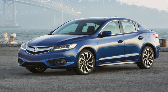 2017 Acura ILX, Front-quarter view, exterior, manufacturer, gallery_worthy