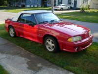 Picture of 1991 Ford Mustang GT Convertible, exterior, gallery_worthy