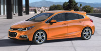 2017 Chevrolet Cruze, Front-quarter view. Copyright General Motors., exterior, manufacturer