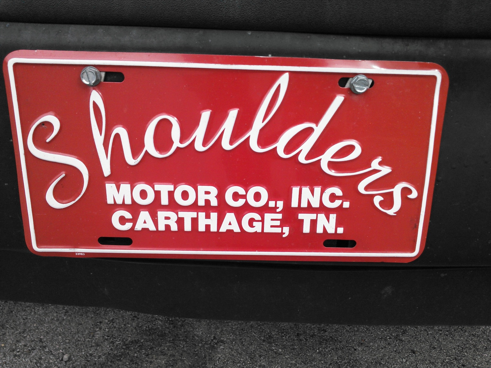 shoulders motor co inc carthage tn read consumer. Black Bedroom Furniture Sets. Home Design Ideas
