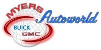 Myers Autoworld Buick GMC logo