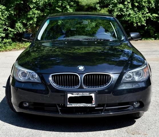 Bmw Xi 2012: 2006 BMW 5 Series