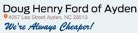 Doug Henry Ford of Ayden logo