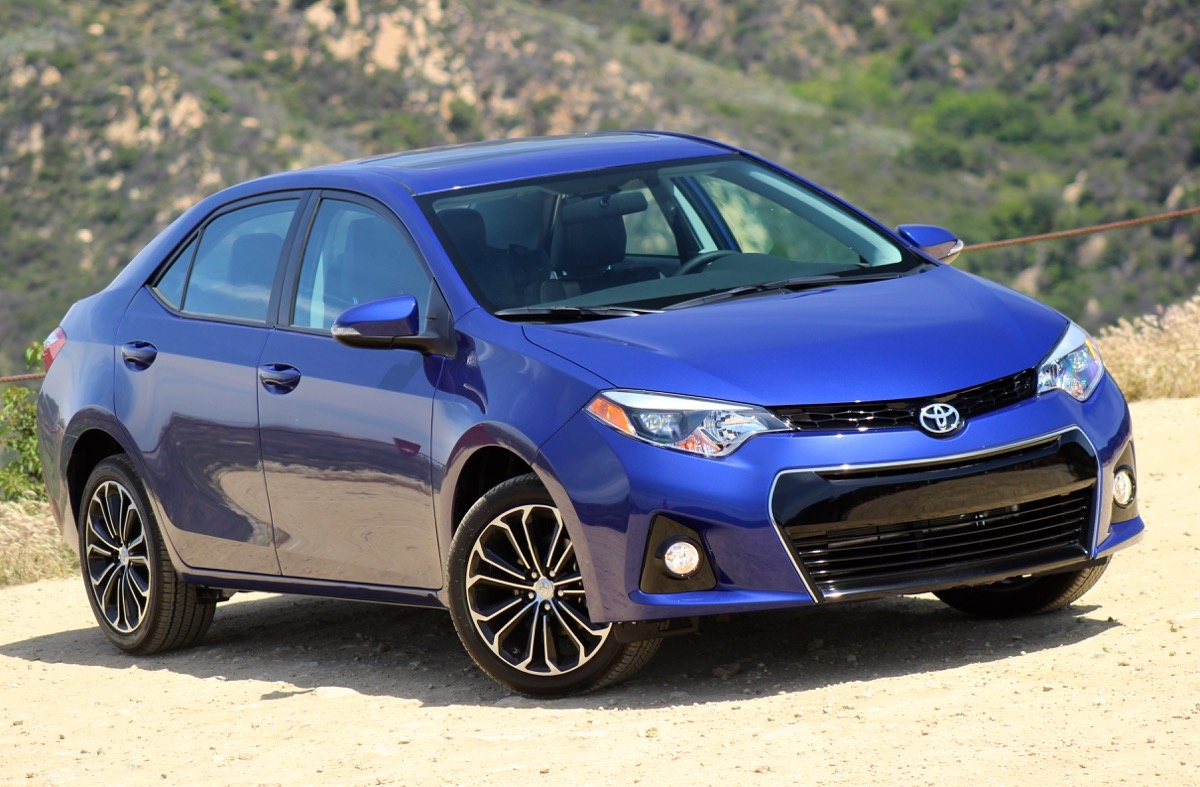 Exterior of the 2016 Toyota Corolla