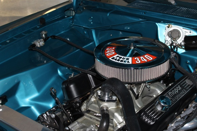 Picture of 1972 Plymouth Duster, engine