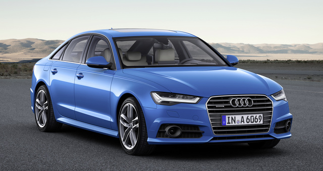 2017 Audi A6, Front-quarter view., exterior, manufacturer, gallery_worthy
