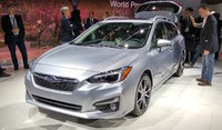 2017 Subaru Impreza, Taken at the 2016 New York Intl Auto Show, exterior