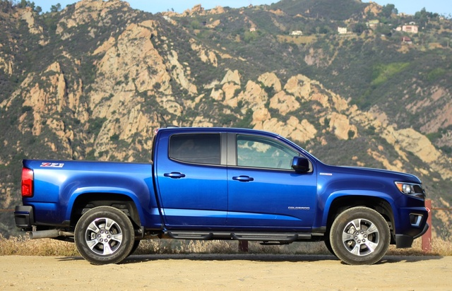 Exterior of the 2016 Chevrolet Colorado, exterior, gallery_worthy