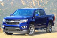 Exterior of the 2016 Chevrolet Colorado, exterior