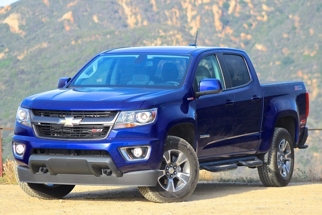 Exterior of the 2016 Chevrolet Colorado