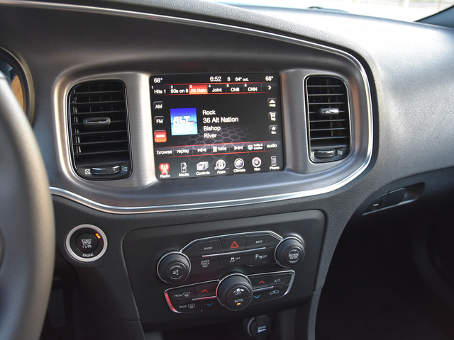 2016 Dodge Charger SXT RWD, 2016 Dodge Charger SXT Uconnect Radio Display, interior, gallery_worthy
