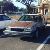1986 Chevrolet Celebrity, This is my car. she has potential but needs some care., exterior