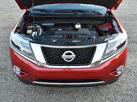 2016 Nissan Pathfinder Platinum 4WD, 2016 Nissan Pathfinder 3.5-liter V6 Engine, engine