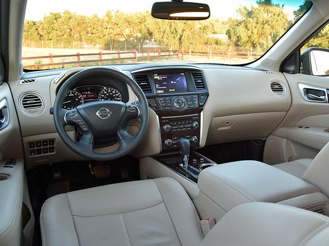 2016 Nissan Pathfinder Pictures Cargurus