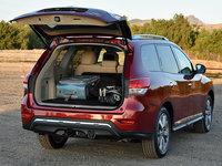 2016 Nissan Pathfinder Platinum 4WD, 2016 Nissan Pathfinder Platinum cargo area, interior