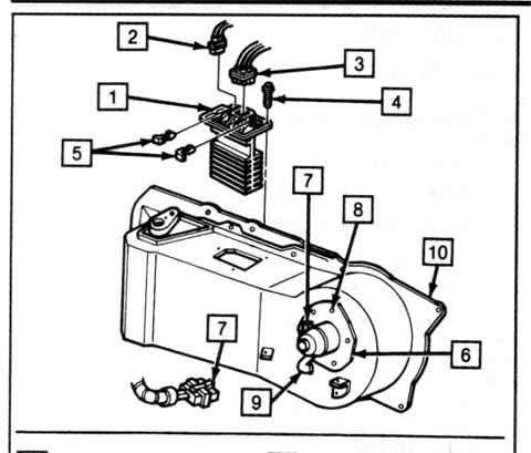 96 Buick Park Avenue Blower Motor Resistor Diagram Under Dash