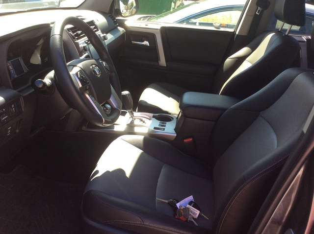 Picture of 2015 Toyota 4Runner SR5 Premium 4WD, interior, gallery_worthy