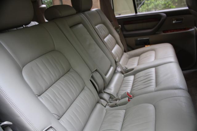 2004 lx470 interior