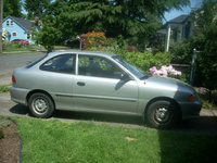 Picture of 1999 Hyundai Accent 2 Dr L Hatchback, exterior