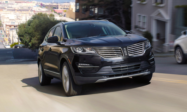 2017 Lincoln MKC, Front-quarter view, exterior, manufacturer, gallery_worthy