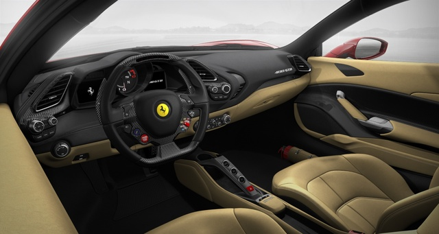 2016 Ferrari 488 Interior Pictures Cargurus