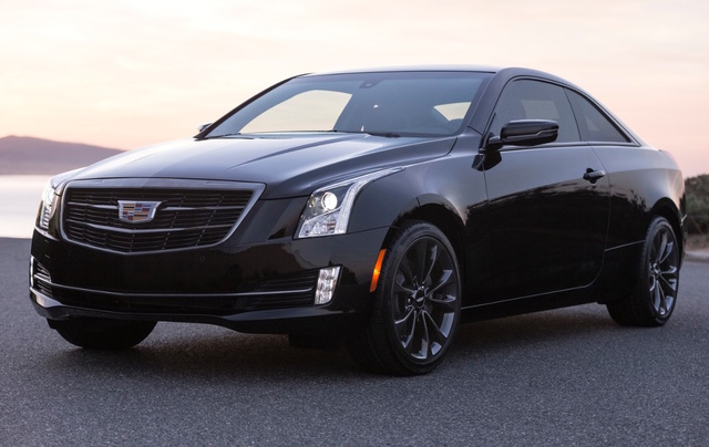 2016 Cadillac ATS Coupe, Front-quarter view. Copyright General Motors., exterior, manufacturer