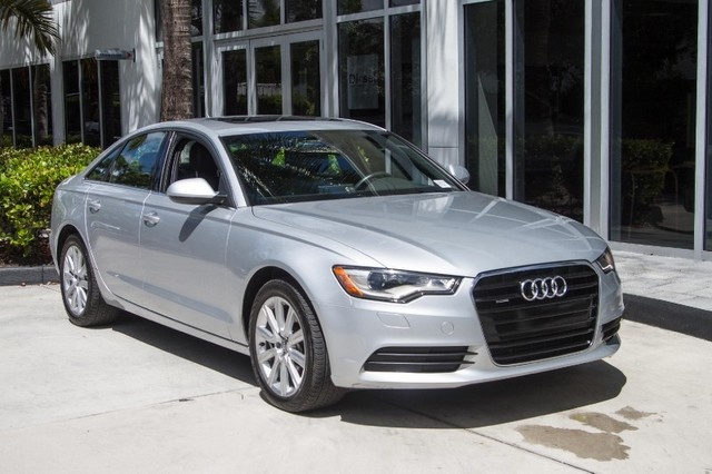 2014 Audi A6 - Overview - CarGurus Audi A Anium Gray on