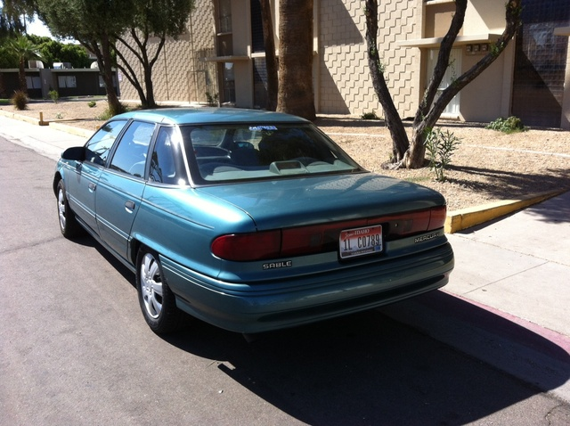 Picture of 1993 Mercury Sable 4 Dr GS Sedan, exterior