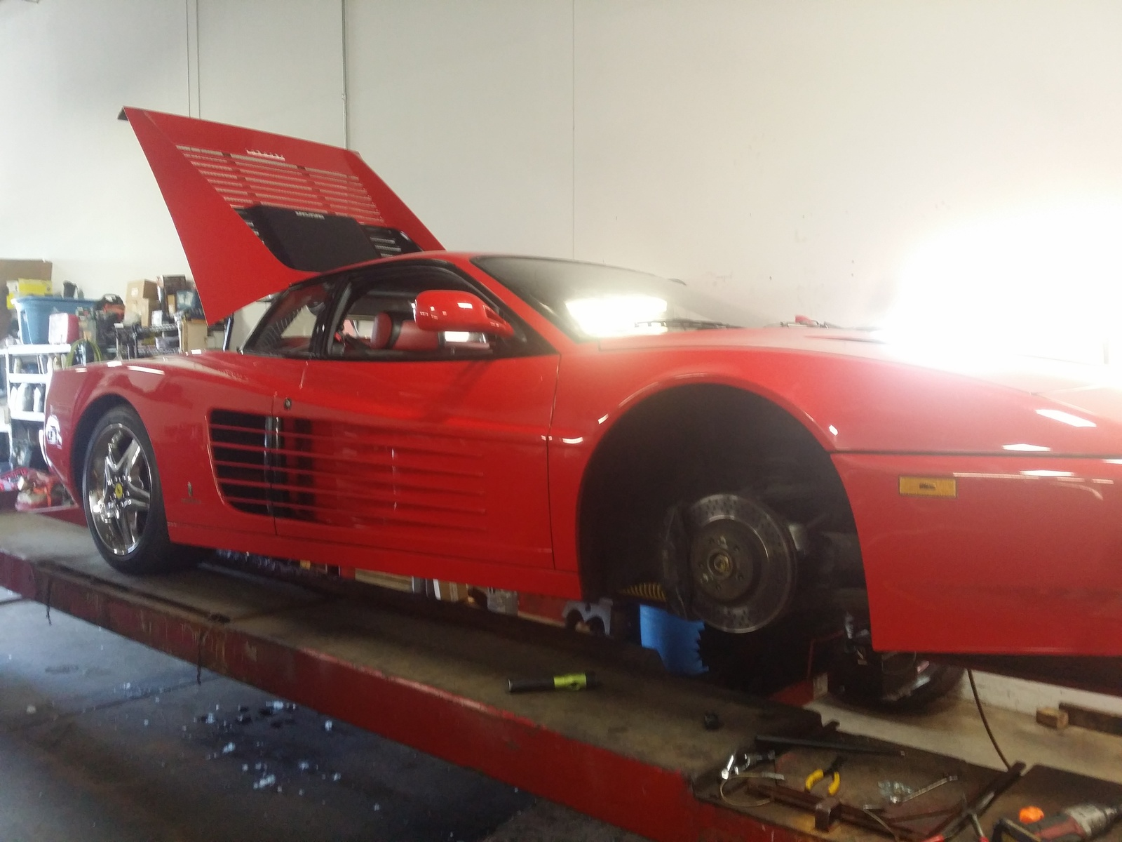 Ferrari Oil Change >> Ferrari 512tr Questions Oil Change Cargurus