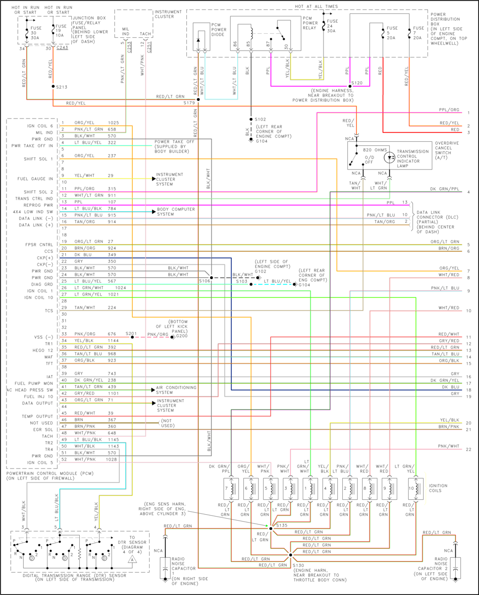 99 f250 4wd wiring diagram wiring diagrams  1999 f350 4x4 wiring schematic #7