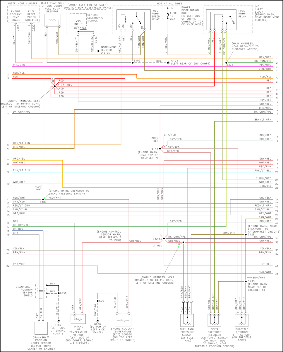 Ford V10 Pcm Wiring Diagram
