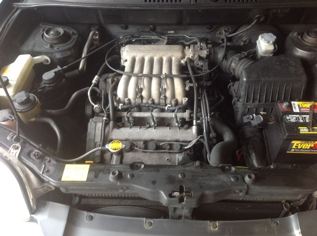 Picture of 2002 Hyundai Santa Fe GL, engine, gallery_worthy