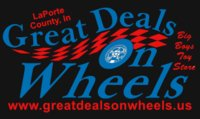 Great Deals On Wheels logo