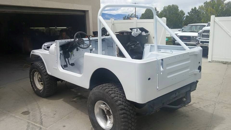 1977 Jeep Cj7 - Overview