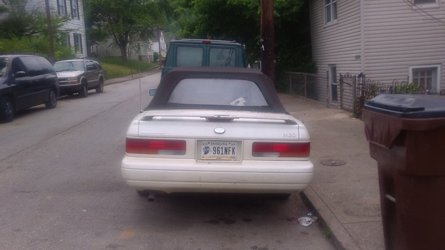 Picture of 1991 Infiniti M30 2 Dr STD Convertible