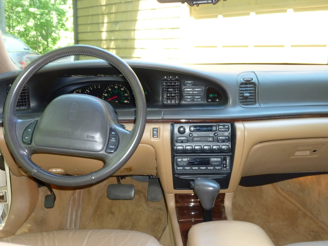 1996 lincoln continental interior pictures cargurus. Black Bedroom Furniture Sets. Home Design Ideas