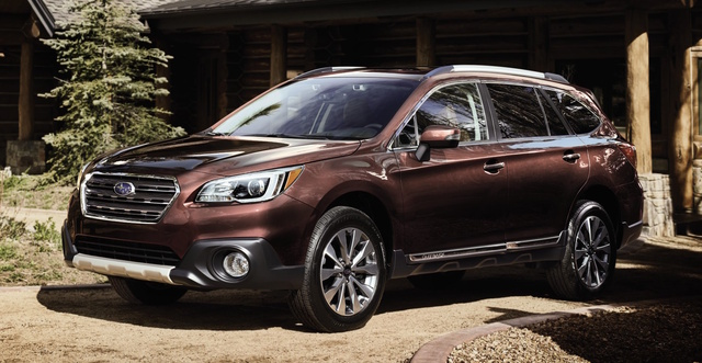 2017 Subaru Outback, Front-quarter view., exterior, manufacturer, gallery_worthy