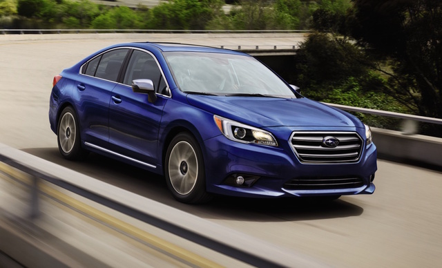 2017 Subaru Legacy, Front-quarter view., exterior, manufacturer, gallery_worthy