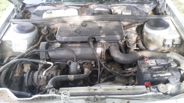 Picture of 1985 Dodge Aries K Sedan, engine