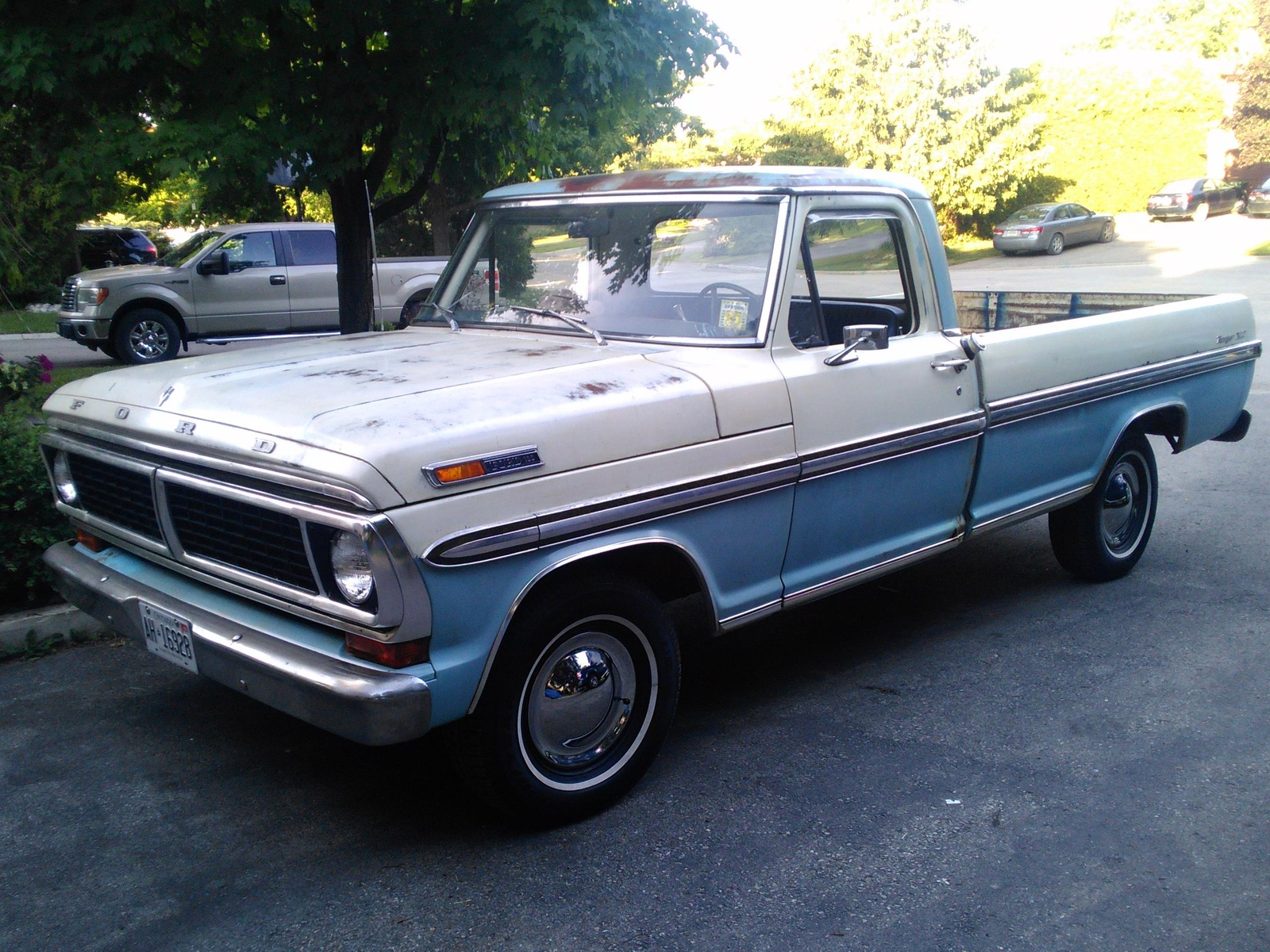 ford f 100 questions i have a 1970 f100 with a 302, after runningi have a 1970 f100 with a 302, after running for a while the engine stalls starving for gas if i let the truck sit for a while the truck starts up