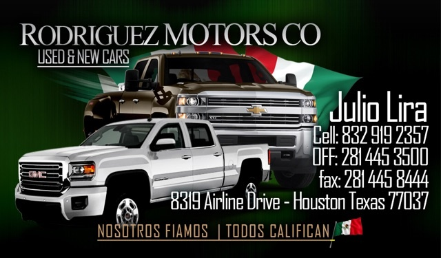 rodriguez motors co houston tx read consumer reviews