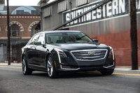 2016 Cadillac CT6, Front-Quarter View. Copyright General Motors, exterior, manufacturer, gallery_worthy