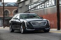 2016 Cadillac CT6, Front-Quarter View. Copyright General Motors, exterior, manufacturer
