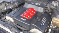 1999 Audi A8 Quattro, 300 HP 4.2 V8 32v, engine