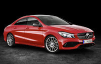 2017 Mercedes-Benz CLA-Class, Front-quarter view, gallery_worthy